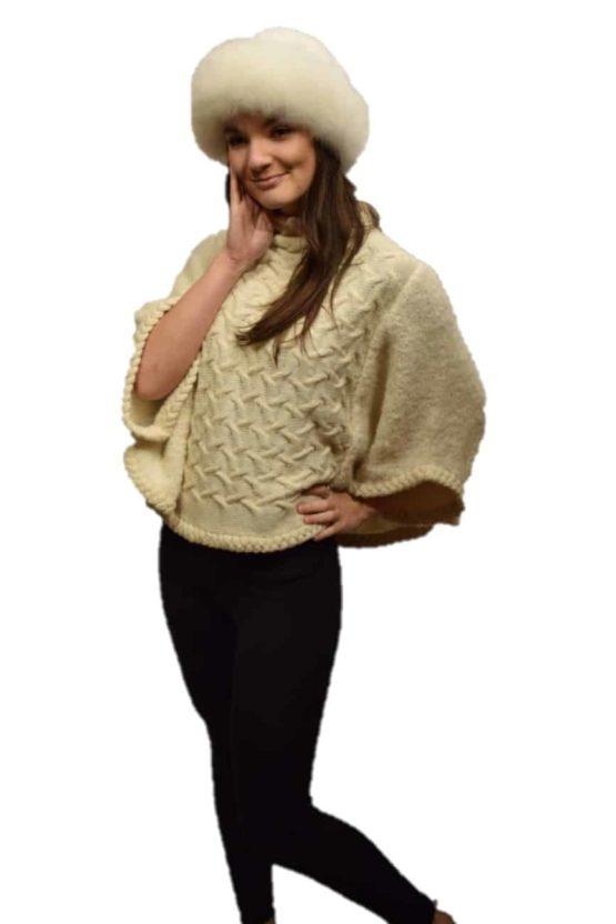 White gigi pullover
