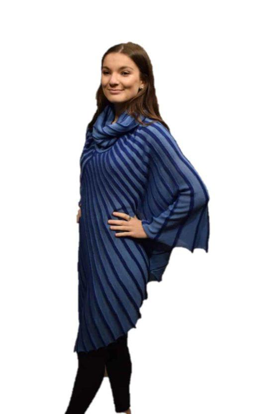 Blue Skye poncho