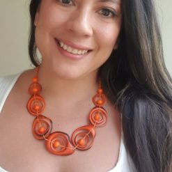 swirl orange