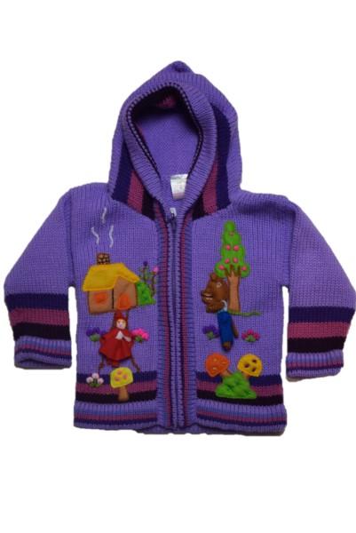 Red riding hood, Purple