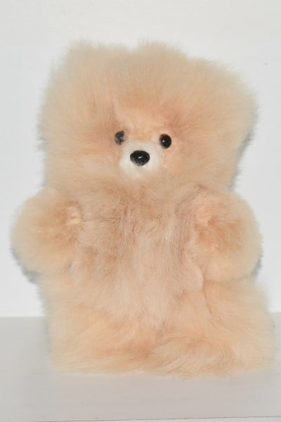 beige small teddy bear