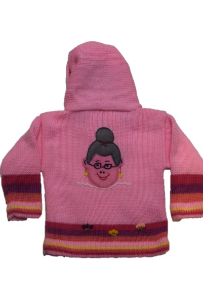 Back of Red riding hood, Pink