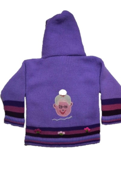 Back of Red riding hood, Purple