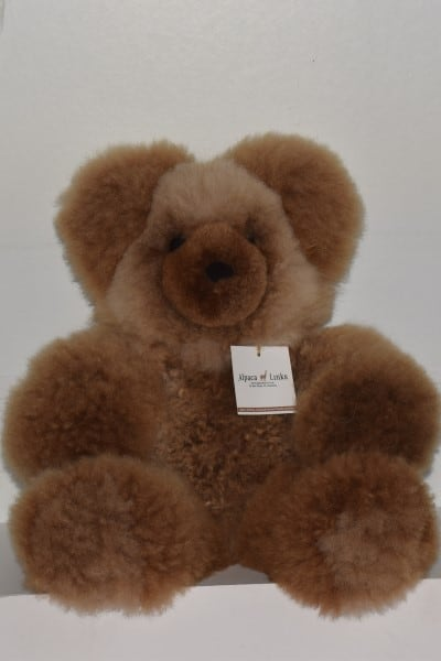 Brown giant teddy bear