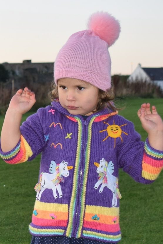 Purple unicorn, skye
