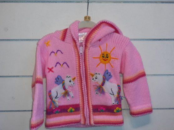Unicorn's Pink cardigan