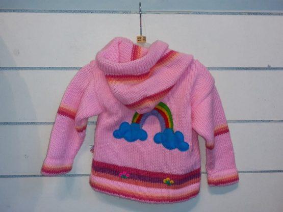 Unicorn's pink Back cardigan