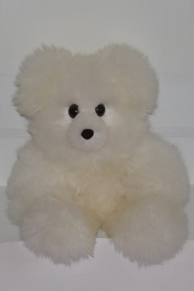 white giant teddy bear