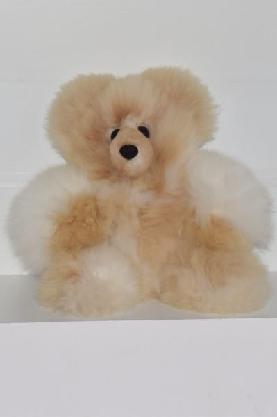 white &beige large teddy bear