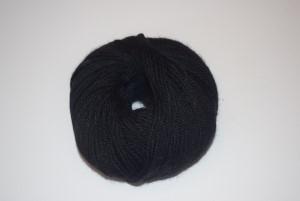Baby-Alpaca-yarn-Black 500 DK