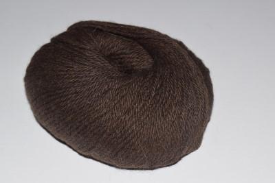 Baby-Alpaca-yarn-Dark-Brown-410-DK-