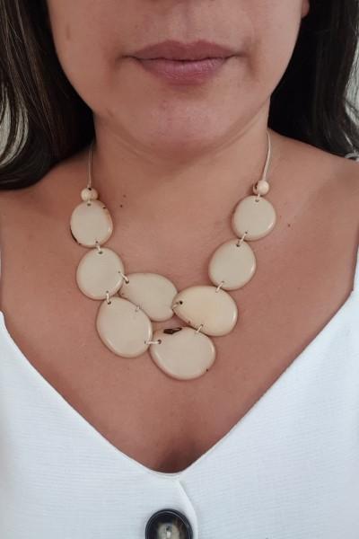 Skye necklace- white