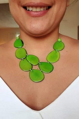Skye necklace- Green
