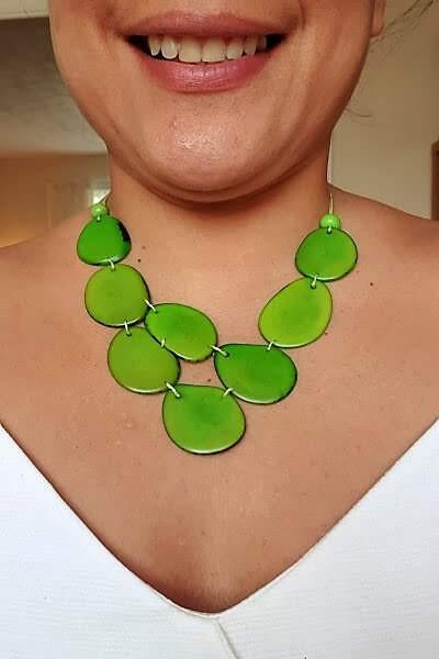 Skye necklace- Green